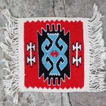 Small Kilim from Pirot Crochet Type